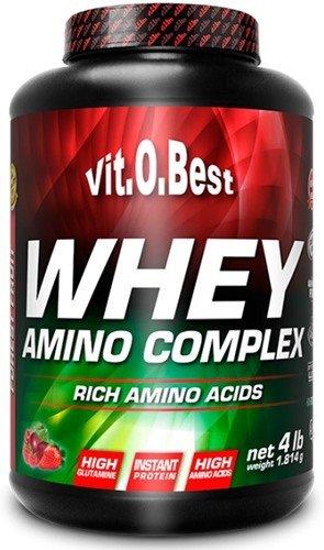 VITOBEST WHEY AMINO COMPLEX (1.8 KG) - PLATANO FRESA