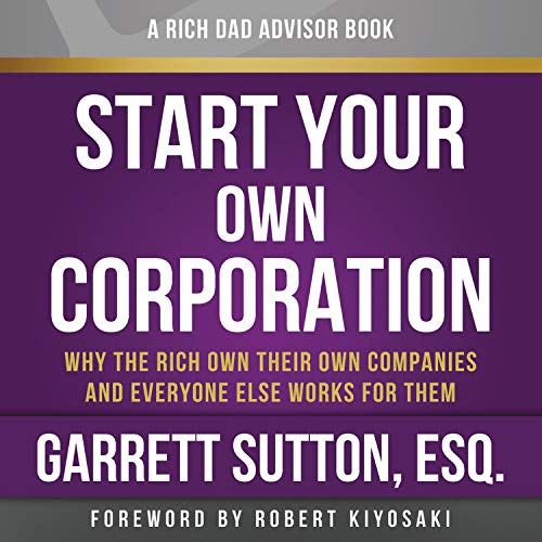 『Rich Dad Advisors: Start Your Own Corporation, 2nd Edition』のカバーアート