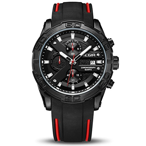 MEGIR Men's Analogue Sport Quartz...