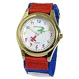 アンペルマン AMPELMANN キッズウォッチ 腕時計 AMA-2034-03 ホワイト [並行輸入品]