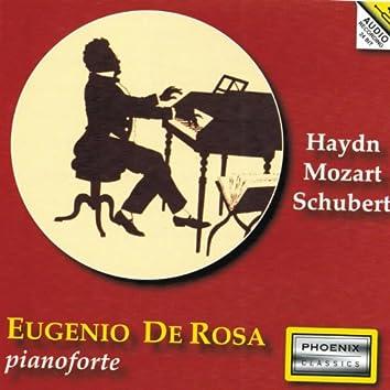 Franz Joseph Haydn, Wolfgang Amadeus Mozart, Franz Peter Schubert : Pianoforte