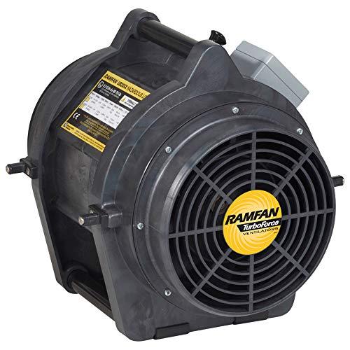 Ramfan UB20xx - Ventilador de alto rendimiento con recipiente Quick-Couple y boquilla de 7,6 m