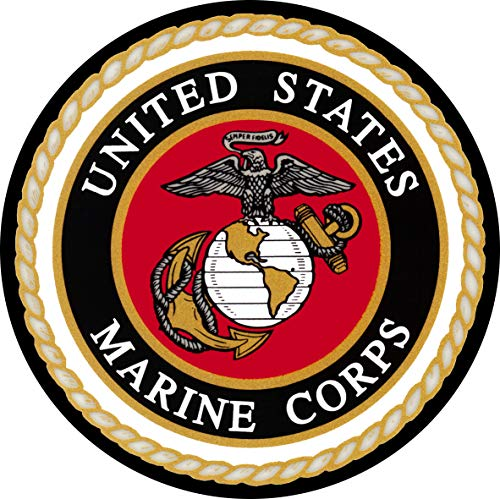 TIRE COVER CENTRAL U.S. Marines Logo Wheel Spare Tire Cover (Select tire Size/Back up Camera Option in MENU) Sized to Any Make/Model for 225/75r15