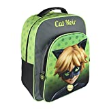 Cerdá MOCHILA ESCOLAR 3D LADY BUG CAT NOIR
