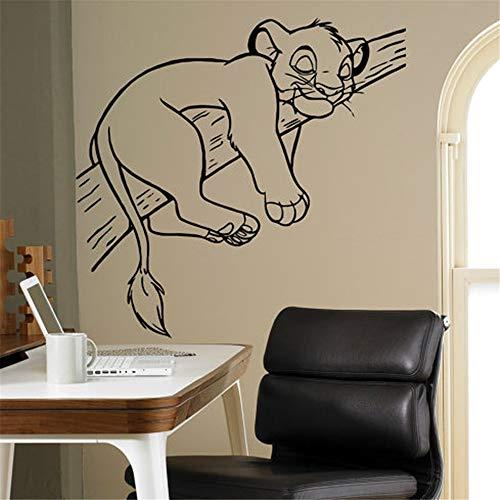 Simba Roi Lion Art Chambre D'enfants Salon Chambre Décoration De La Maison Bricolage