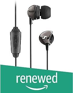 (Renewed) Sennheiser CX 275 S in -Ear Universal Mobile Headphone with Mic (Black)