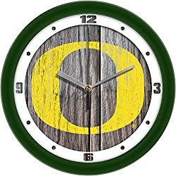 SunTime Oregon Ducks - Weathered Wall Clock