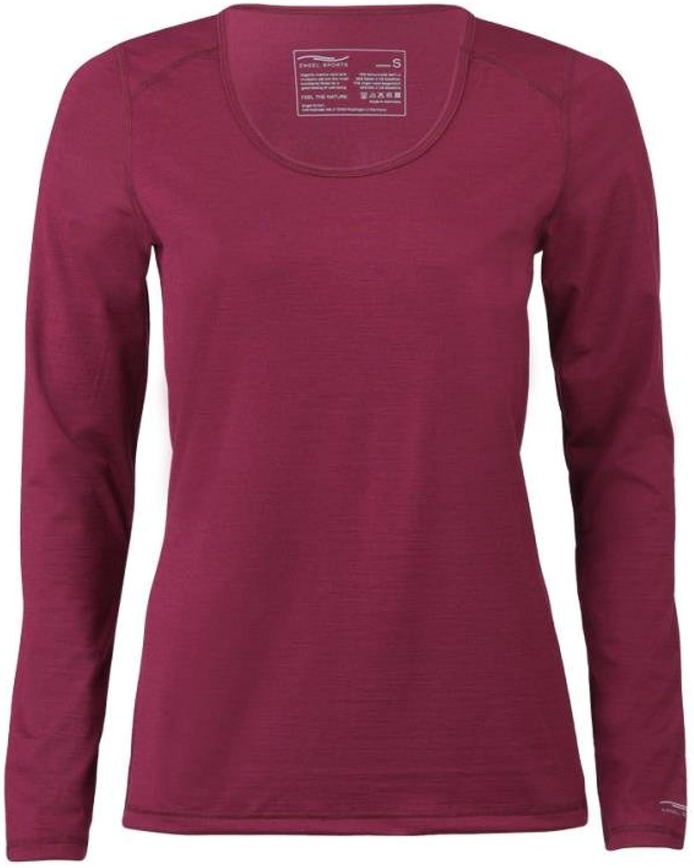 ENGEL SPORTS Damen Shirt Langarm Regular Fit 200g