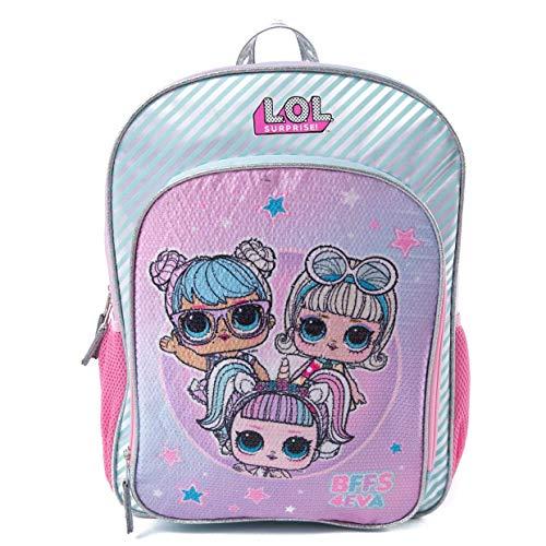 LOL Surprise Backpack for Girls - 16 Inch - LOL School Bag, Elementary...
