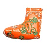 GOOACTION Golf Blade Putter Cover Orange Creative Frog Pattern with Magnetic Closure Golf Putter...