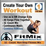 Create Your Own Workout Vol.1 - Top New Music Re-Mix for Group Fitness, Aerobic Exercise, Running, Cycling, Cardio. (Non-Stop)