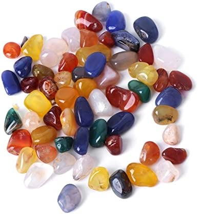 Popular overseas ZYYRT 2 LB 900g Natural Mix New sales Color Pe Decorative Crystal Aquarium