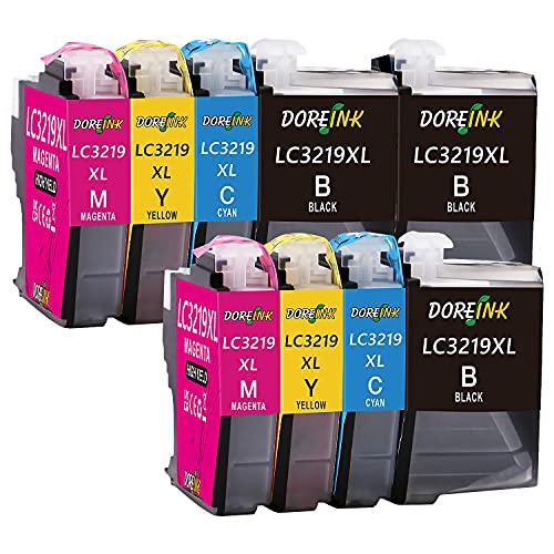 DOREINK 9 Pack LC3219XL Patronen Kompatibel Brother LC3219XL LC-3219XL LC-3217 Multipack Druckerpatronen für MFC-J5330DW MFC-J5335DW MFC-J5730DW MFC-J5930DW MFC-J6530DW MFC-J6935DW MFC-J6930DW