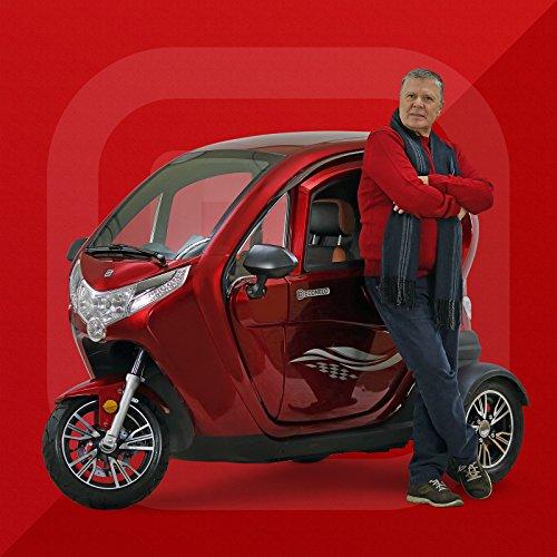 Econelo 1500 Tre ruote cabinato elettrico