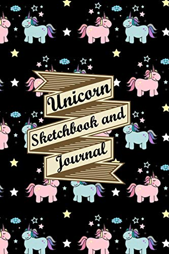 Unicorn Sketchbook and Journal: Journal and Notebook for Journal for Boys Girls Kids Women Teens! With Lined and Blank Pages, Perfect for Journal, ... Creativity: Best Seller, Amazon Best Seller