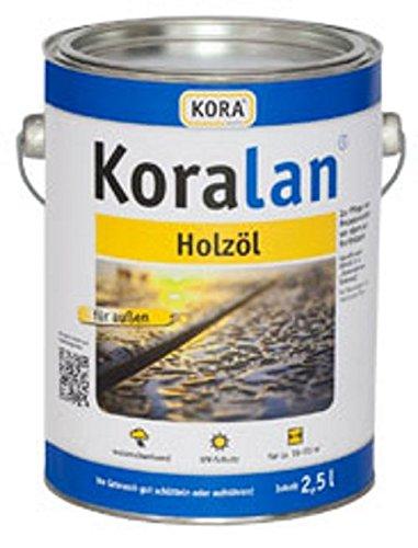 Kora Koralan Holzöl 2,5l Farbton: Bangkirai