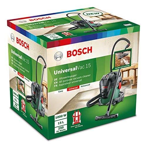Aspirateur d'atelier Bosch - Universalvac 15 (Livré avec set d'accessoires)