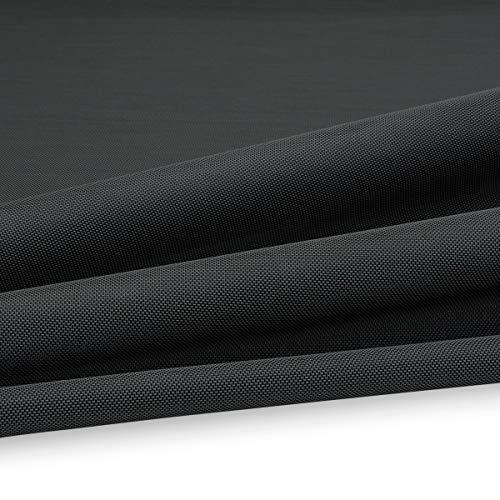 Serge Ferrari Batyline ISO 62 PVC Outdoor Netz 500g/m² Breite 180cm Farbe Schwarz 5005 für Möbel im Außenbereich