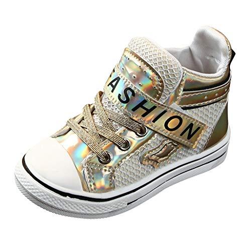 catmoew Kinder Sportschuhe Kinder Jungen Schuhe mädchen Schuhe Kinderstiefel Sequin Brief Nähen Weicher Boden rutschfest Lässige Turnschuhe günstig Schuhe Booties Schuhe kaufen