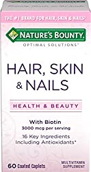nature bounty for hair nails and skin review