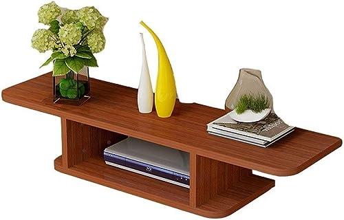 DEWUFAFA Router-Regal, Wand-TV-Schrank Finishing Rack - Home Schlafzimmer Wohnzimmer Einfache WiFi Rack 23,7 × 7,9  (Farbe   A)