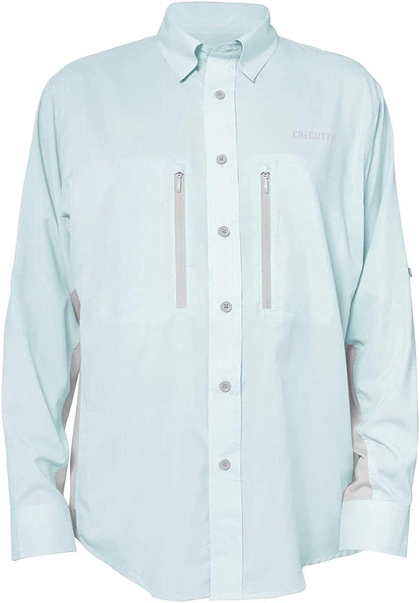 Calcutta Men's Long Sleeve Fishing Limited time cheap sale Light Max 43% OFF Performance Shirt