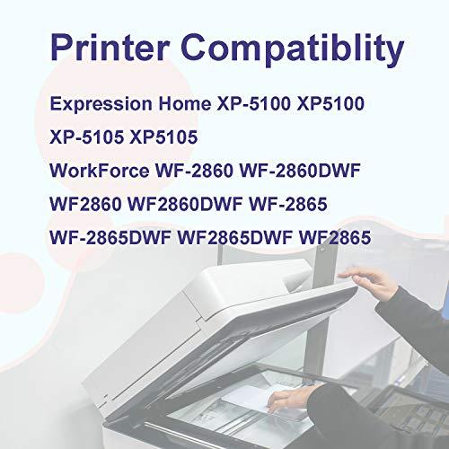 OG OUGUAN 502 XL Cartuchos de Tinta Compatible para Impresoras Epson Expression Home XP-5100 XP-5105 Workforce WF-2860DWF WF-2865DWF (4Negro/2Cian2Magenta/2Amarillo)