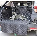 Cuatro estaciones La nueva cubierta de asiento del automóvil de perro Lanke, estera de asiento de tronco automático anti-sucio impermeable, portadores de mascotas protector de hamaca cojín con cinturó