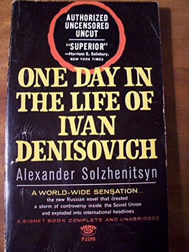 One Day in the Life of Ivan Denisovich: autorizado sin censura sin cortar