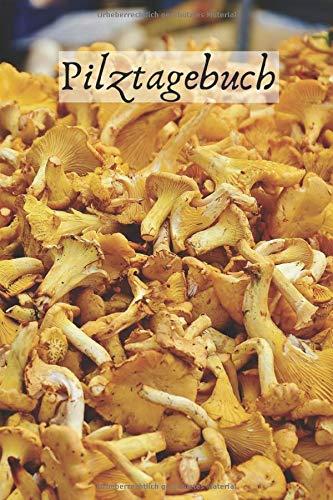 Pilze sammeln Notizbuch: Tagebuch / Notizbuch mit Pfifferling Motiv für echte Pilz & Schwammerl Sammler