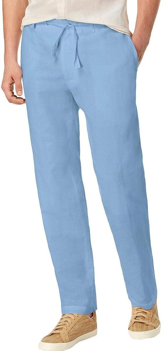 I-N-C Mens Drawstring Casual Trouser Pants