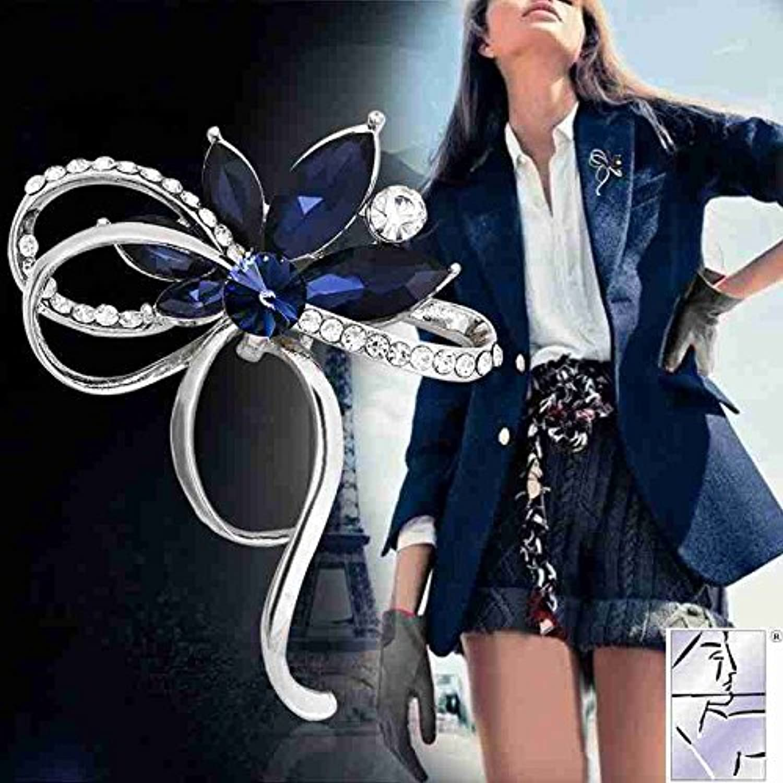 Atmospheric Elegant Luxury Diamond Brooch pin Badge Women Girls Fashion Coat Jacket Corsage Brooch pin Badge Temperament About Accessories