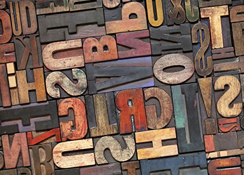 Küchenläufer rutschfest color-rè Fantasie Letters 60x140 Letters