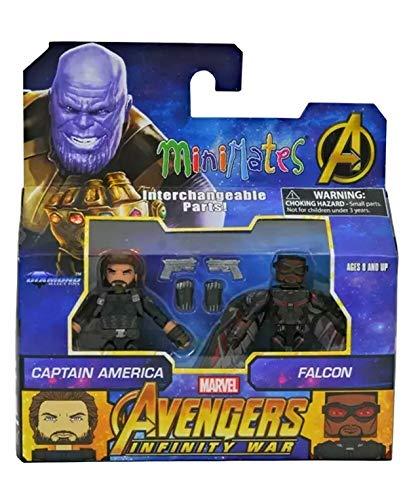 Marvel Minimates série 42 guerre civile Captain America