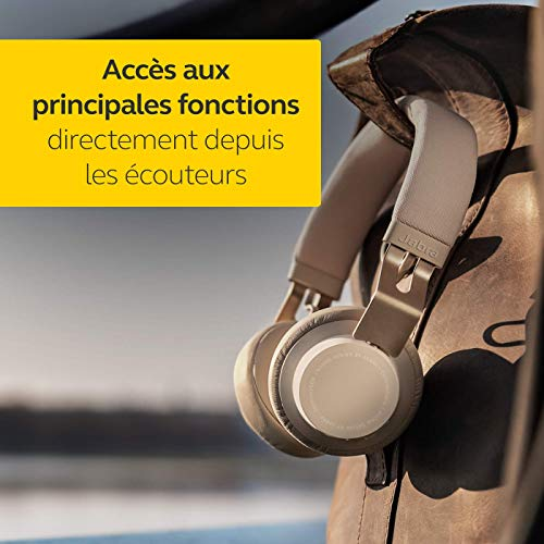 Jabra Move Style Edition Casque audio bluetooth - Gold Beige