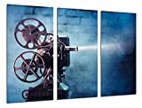 Poster Fotográfico Historia Cine Antiguo Hollywood, Proyector Tamaño total: 97 x 62 cm XXL