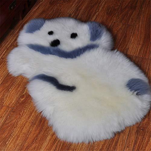 AMON LL Faux Lambskin tapijt, imitatiebont schapenvacht tapijten tapijt slaapkamer woonkamer vloer bank stoel jas (kaola)