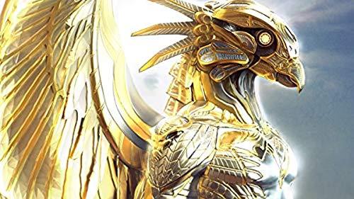 Puzzle de 500 piezas, rompecabezas para niños, adultos, faraón, guerrero dorado, decoración especial para el hogar