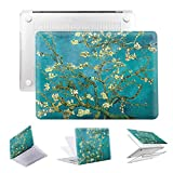 PapyHall Painting Plastic Pattern Hard Case Only Fits for Old MacBook Pro 15 inch with Retian Display Model: A1398, No CD-ROM (DZ-Prunus