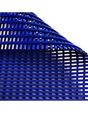 Anti-slip mat Aqua-Grip   voor natte ruimtes zoals zwembaden en douches   antimicrobieel   drie kleuren, vele maten (blauw, 90x200cm)