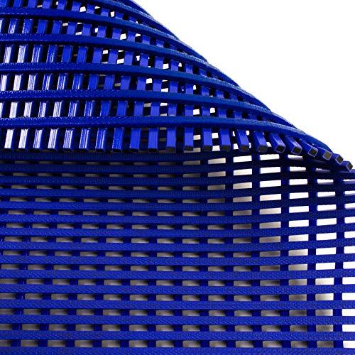 Antirutschmatte Aqua-Grip | für Nassbereiche wie Schwimmbäder und Duschen | antimikrobiell | drei Farben, viele Größen (blau, 60x100cm)