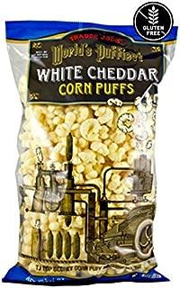 Trader Joe's World's Puffiest White Cheddar Corn Puffs - 7 oz (198g)