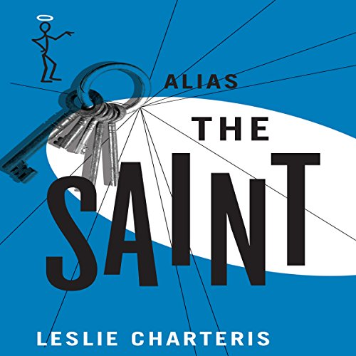 Alias the Saint audiobook cover art