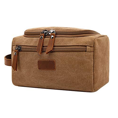 Sac de rangement portable de grande capacité et sac de rangement pour produits cosmétiques avec fermeture éclair de grande capacité