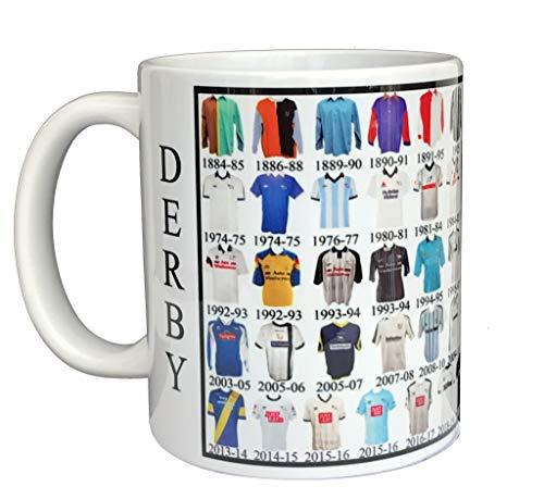 Glory Mugs Derby County Mug Shirt History