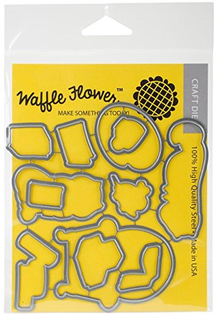 Waffle Flower Crafts 310129 Die-Hello Stampurr