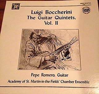 Luigi Boccherini the Guitar Quintets Volume 2