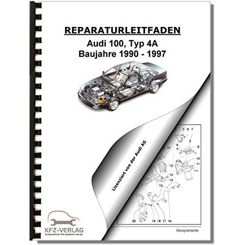Audi 100, Typ 4A (90-97) Heizung, Lüftung, Klimaanlage - Reparaturanleitung