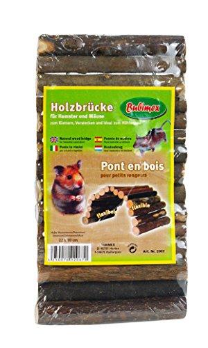 Bubimex 2067 Pont en Bois pour Rongeur
