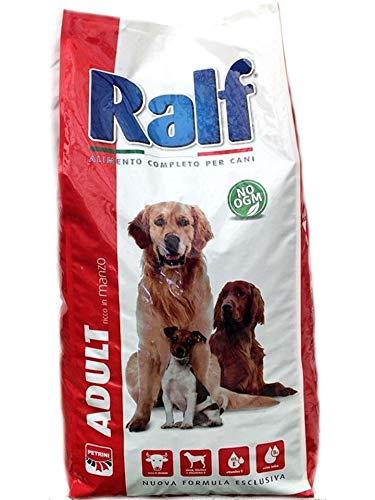 PETRINI CROCCHETTE Mantenimento Cibo per Cani Sacco 20 kg RALF Adult con Manzo